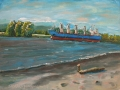 pleinair_OregonPark_tugboat_sandralongmore